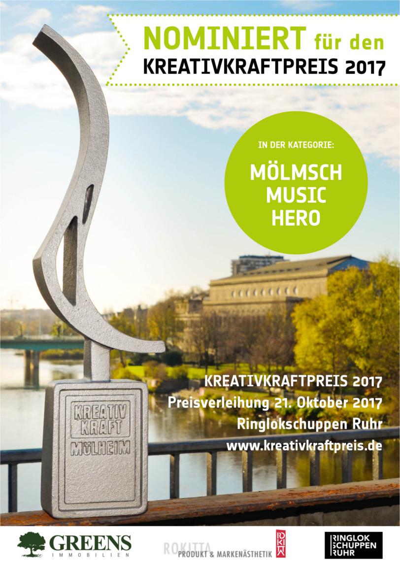 Nominierung Kreativkraftpreis 2017
